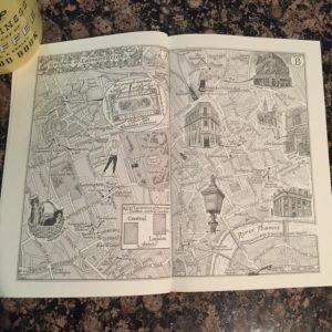 Garden of Lamentations by Deborah Crombie Map
