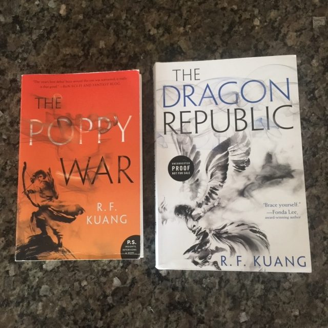 The Poppy War and The Dragon Republic by R.F. Kuang