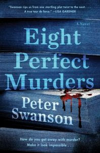 Book Review: Eight Perfect Murders by Peter Swanson